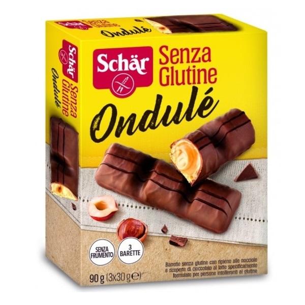 Schar Ondule čokoladni bar 90g (3x30g)