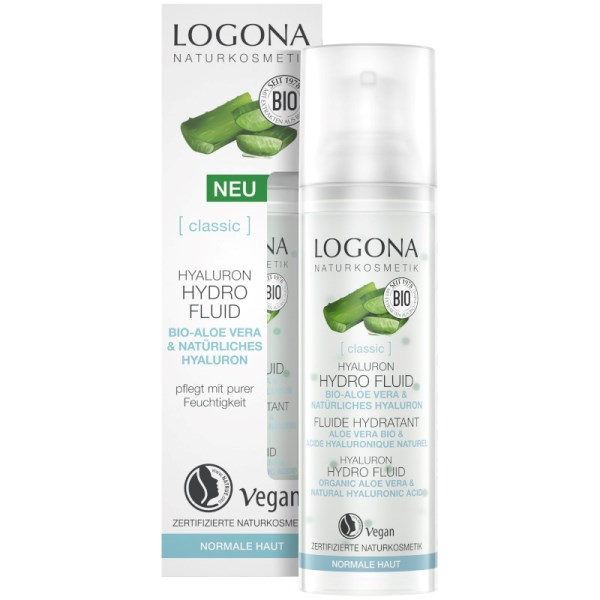 Logona Hijaluron hidro fluid 30ml