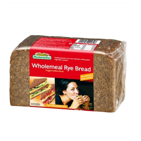 Ražani hleb Mestemacher 500g