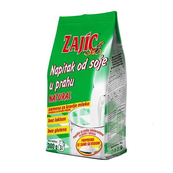 Sojin napitak u prahu natural Zajic 300g