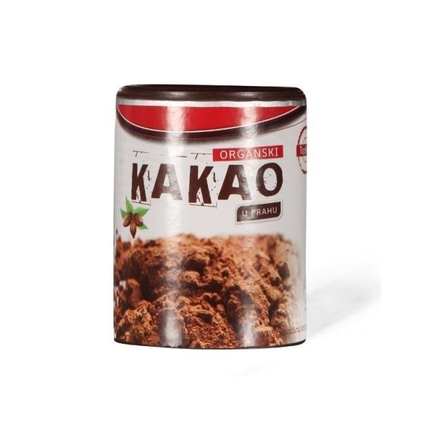 Kakao prah sirovi organski u prahu Top Food 100g