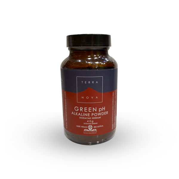 Terranova green pH alkaline powder 40g