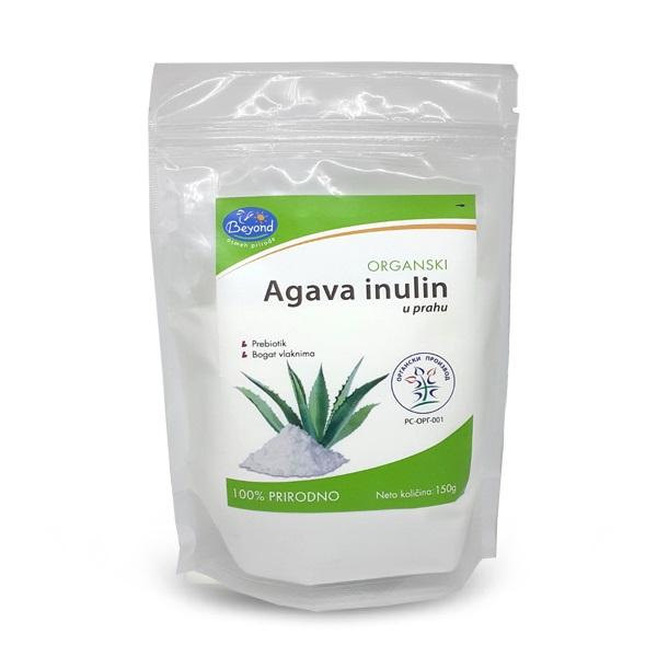 Agava inulin u prahu organic Beyond 150g
