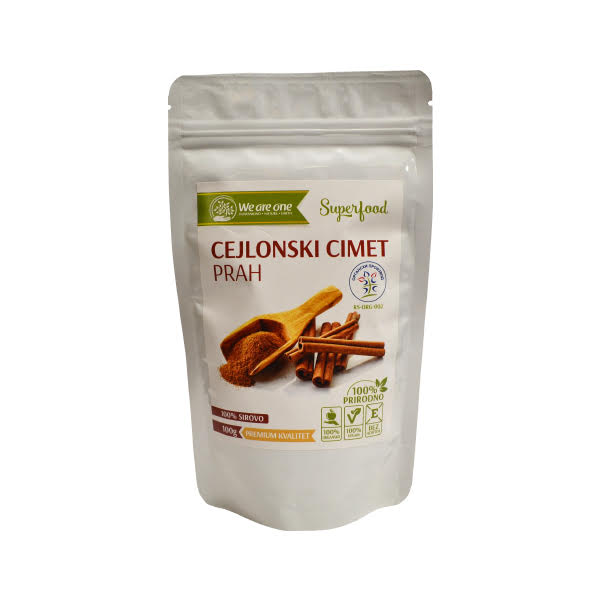 Cejlonski cimet u prahu organic We are one 100g