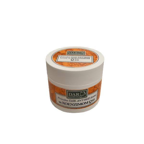 Prirodna Antirid Krema za lice sa koenzimom Q10 50ml Dar kozmetika