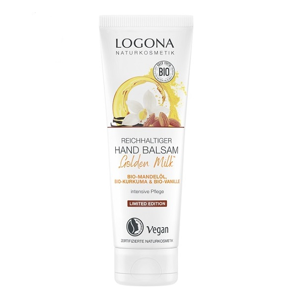 Logona Golden milk krema za ruke 75ml