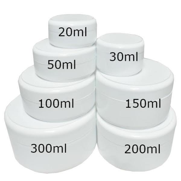 Kozmetička kutija bela 20ml