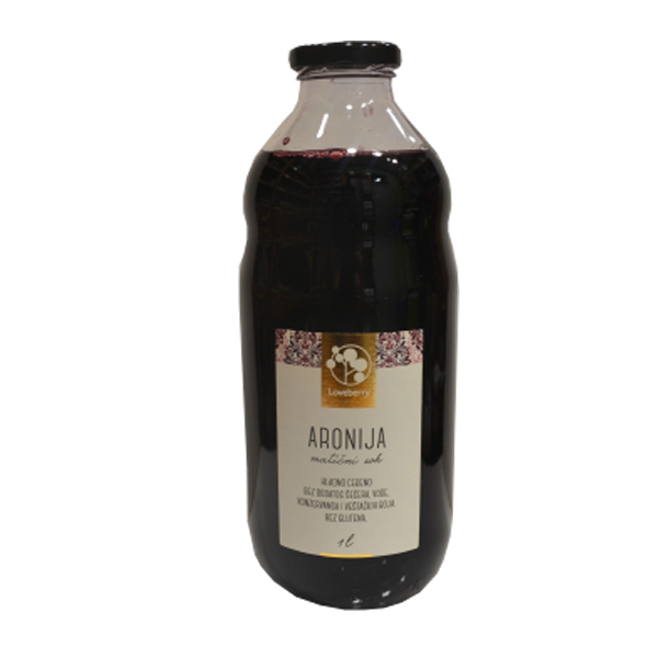 Aronija matični sok Loveberry 1l