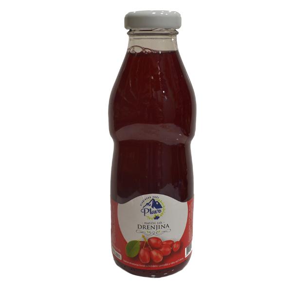 Matični sok drenjina Plavo 500ml