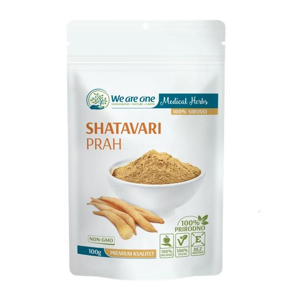 Shatavari prah 100g We are one