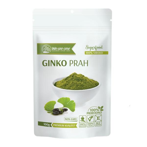 Ginko prah  organic We are one 100g