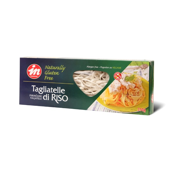 Pirinčane taljatele bez glutena 210g