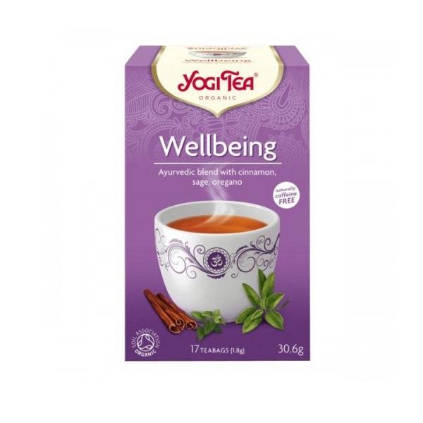 Yogi tea  Wellbeing - biljni čaj Zauvek mlad 30,6g