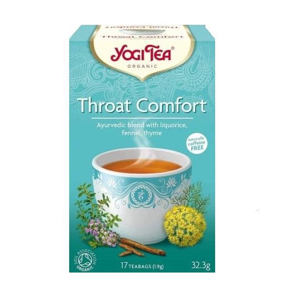 Yogi tea Throat Comfort - Biljni čaj zdravo grlo 32,3g