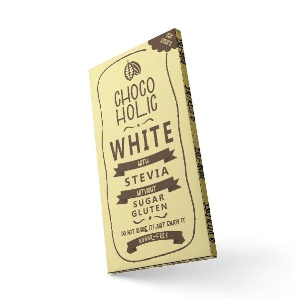 Chocoholic white sa stevijom 100g