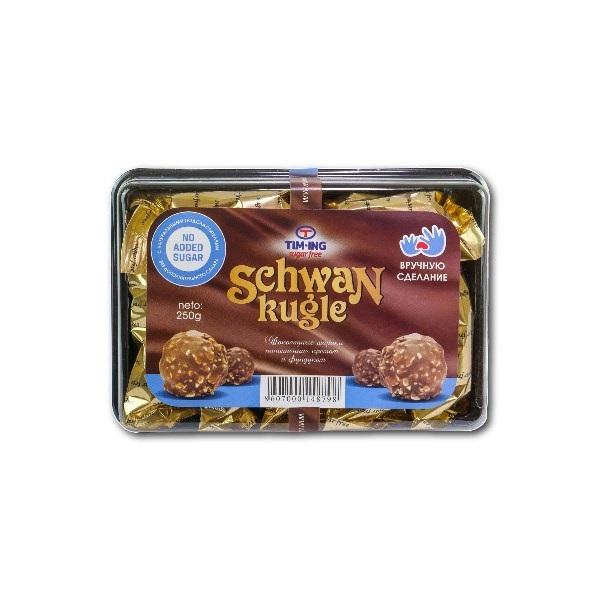 Schwan čoko kugle bez šećera 250g