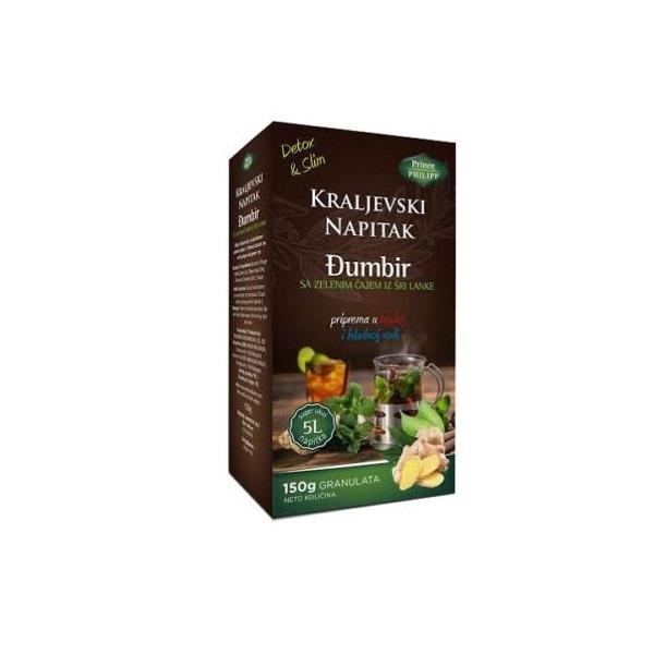 Kraljevski napitak đumbir sa zelenim čajem 150g