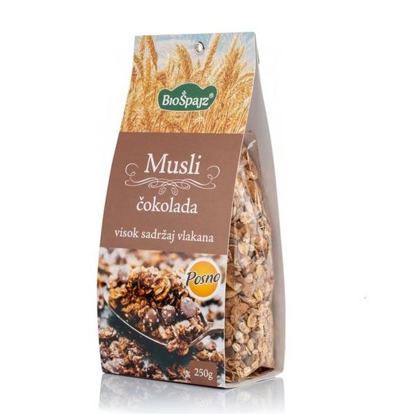 Musli čokolada Bio Špajz 250g