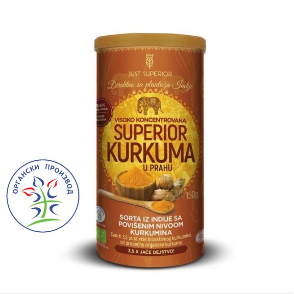 Superior Kurkuma 150g Just Superior
