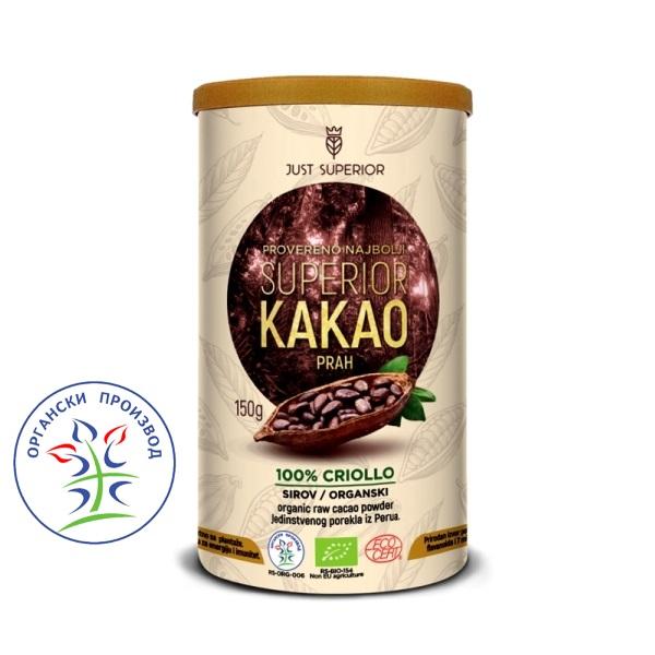 Kakao prah Criollo Just Superior 150g