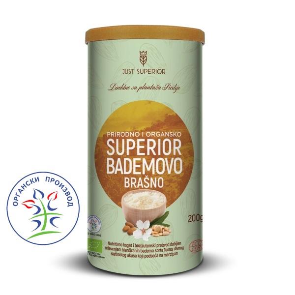 Bademovo brašno 200g Just Superior