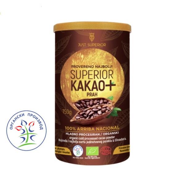 Kakao prah Arriba Nacional 150g Just Superior