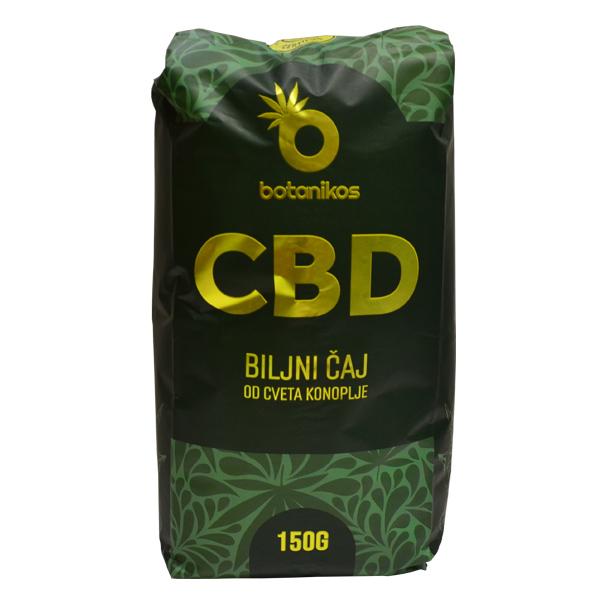 CBD biljni čaj od cveta konoplje 150 grama Botanikos
