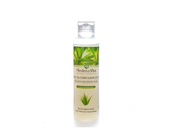 Hedera Vita Gel za umivanje lica – Obogaćen proteinima mleka 150ml