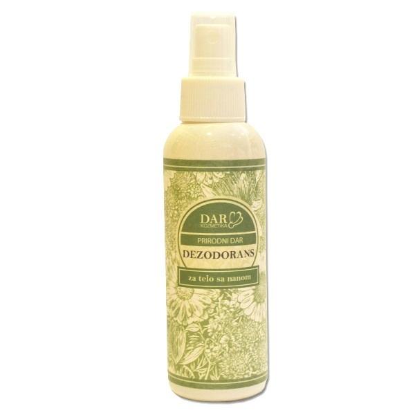 Dezodorans za telo sa nanom 150ml Dar kozmetika