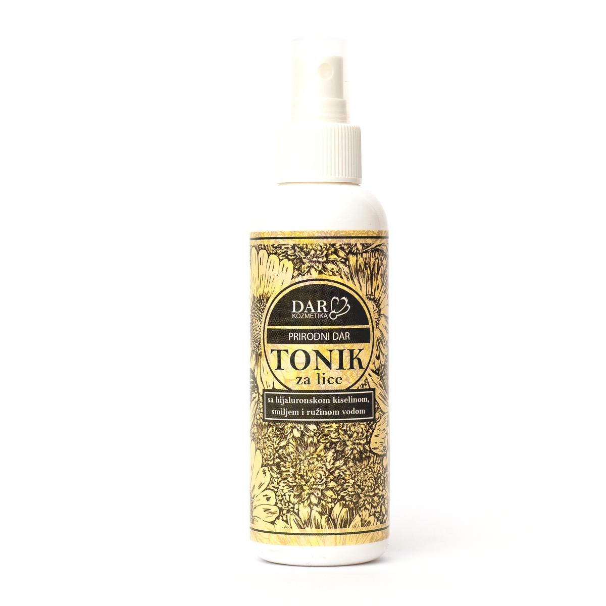 Prirodni Dar tonik sa smiljem i hijaluronskom kiselinom i ružinom vodom 150ml