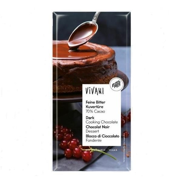 Čokolada za kuvanje organic Vivani 200g