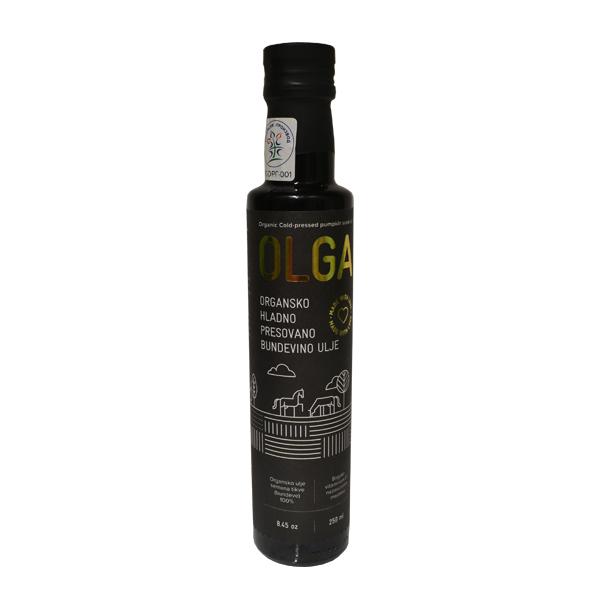 Bundevino ulje hladno presovano organsko Olga 250ml