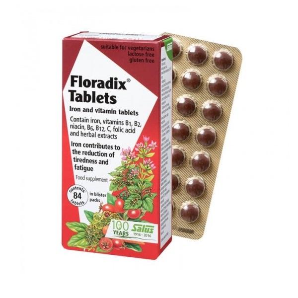 Floradix tablete 84 komada