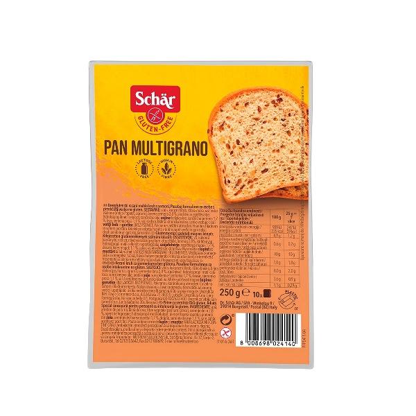 Schar Pan Multigrano -  hleb bez glutena 250g