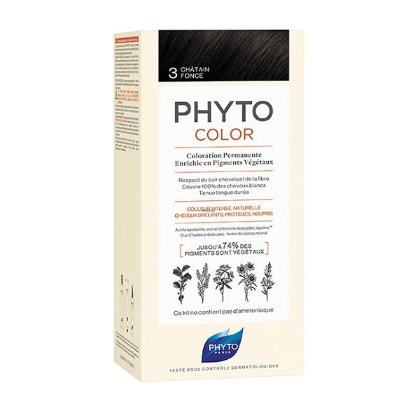 Phytocolor farba za kosu 3 - Châtain Fonc