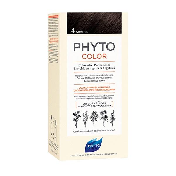 Phytocolor farba za kosu 4 - Châtain