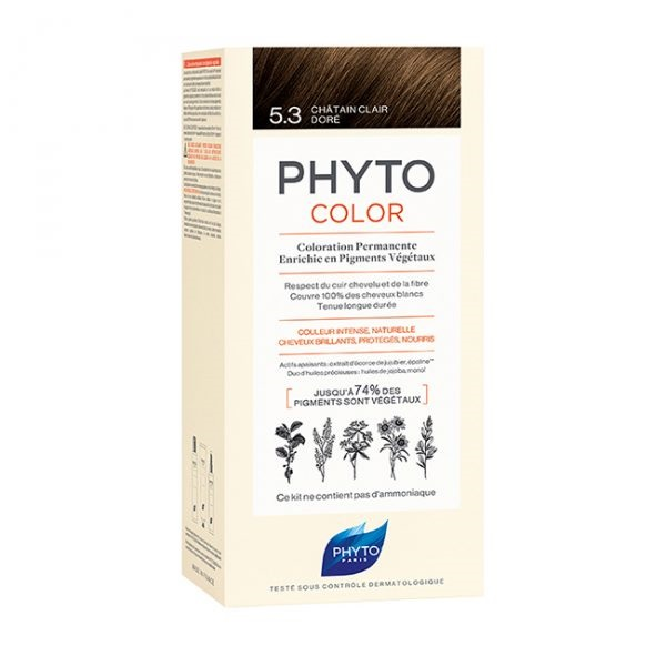 Phytocolor farba za kosu 5.3- Light golden brown