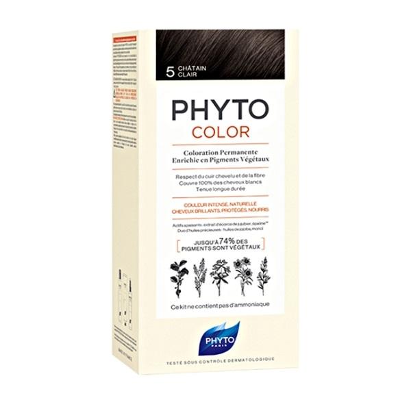 Phytocolor farba za kosu 5 -Chatain clair
