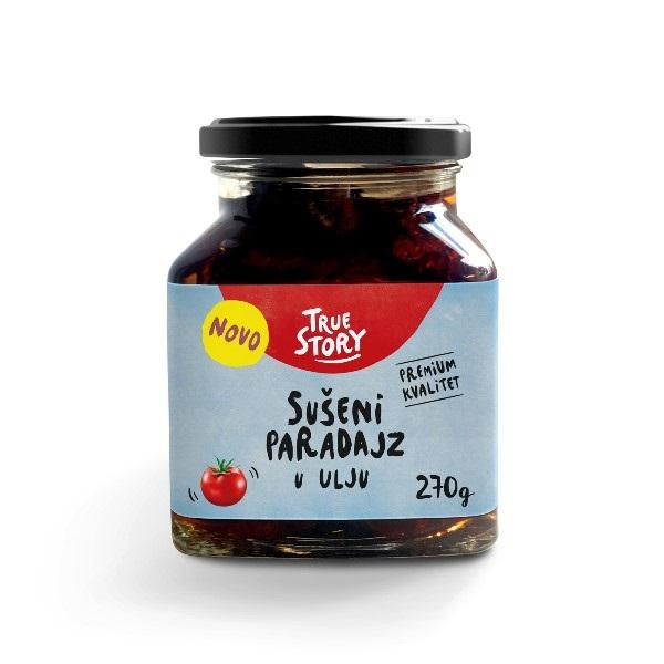 Sušeni paradajz u ulju True Story 270g