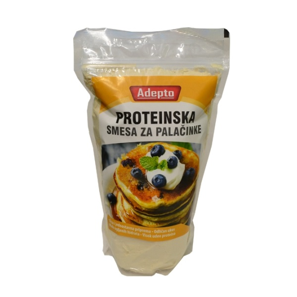 Proteinska smesa za palačinke Adepto 750g