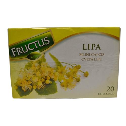 Fructus čaj od lipe 20 filter kesica