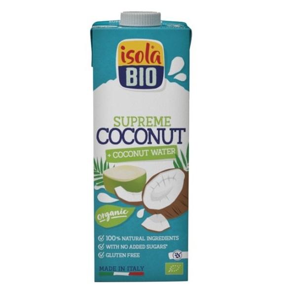 Napitak od kokosovog mleka i kokosove vode organic Isola Bio 1l
