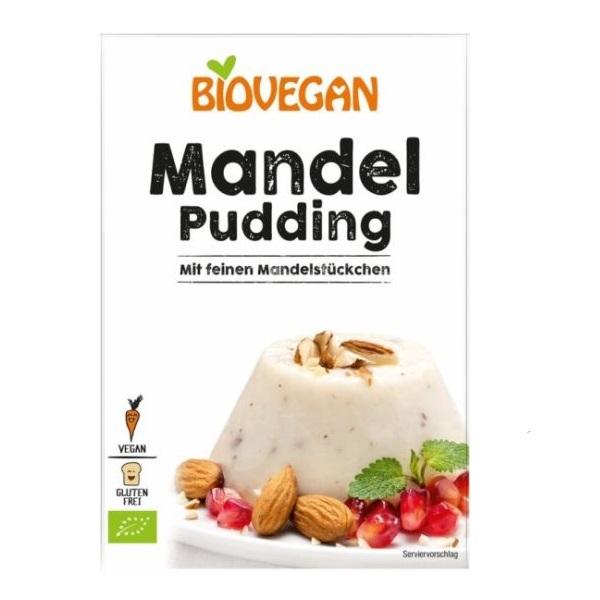 Puding od badema organic bez glutena Biovegan 49g