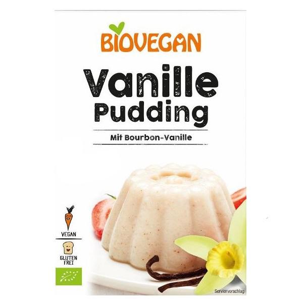 Puding od vanile organic bez glutena Biovegan 33g