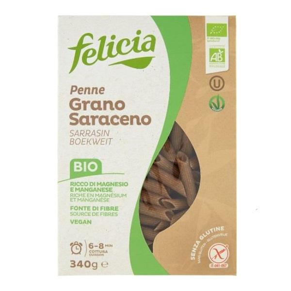Testenina od heljde organic bez glutena Felicia 340g