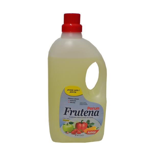 Perun Frutena-antimikrobno sredstvo za pranje voća i povrća 1500ml