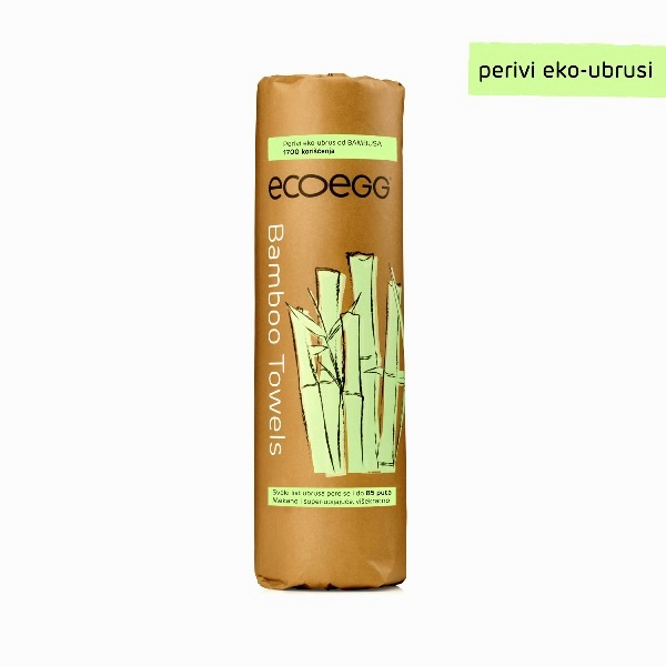 ECOEGG perivi eko-ubrusi od bambusa