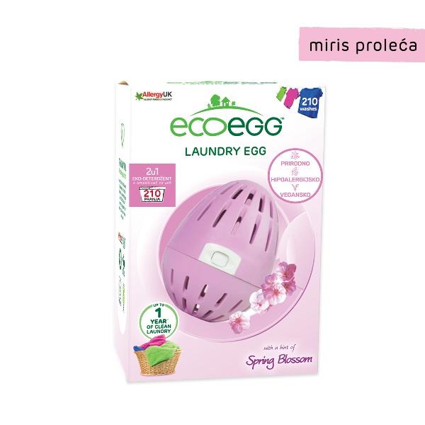 ECOEGG 2u1 eko-deterdžent i omekšivač za veš za veš, Miris proleća - 210 pranja