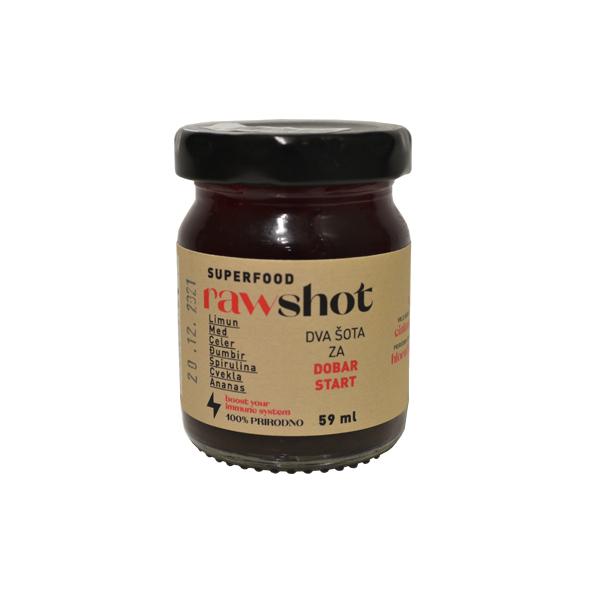 Raw shot spirulina 59ml