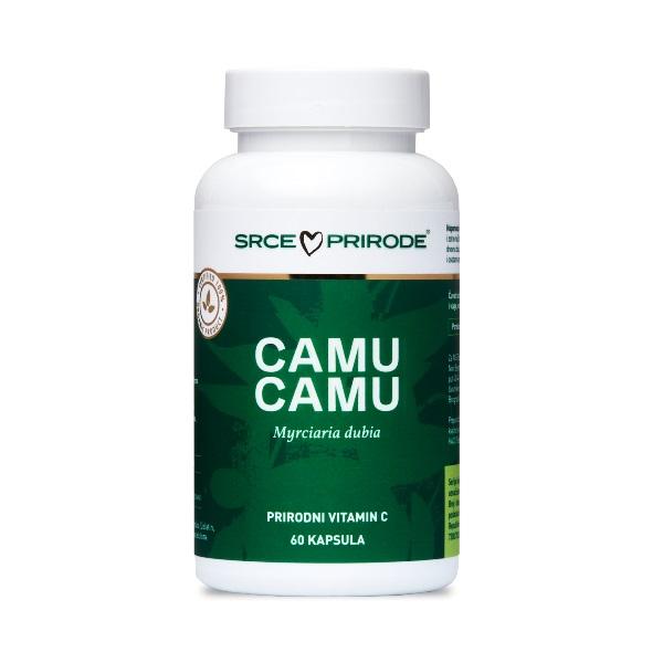 Camu Camu 60 kapsula  Prirodni organski vitamin C